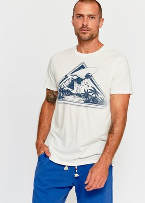SOL Angeles Playa Prizm Crew Neck Tee