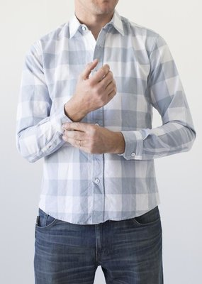 Raleigh Denim Workshop Gin Picnic Classic Button -Up