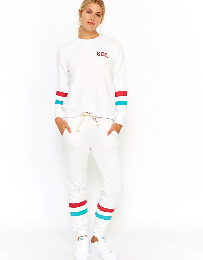 SOL Angeles SOL Stripe Pullover