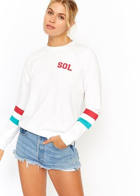 SOL Angeles Stripe Pullover