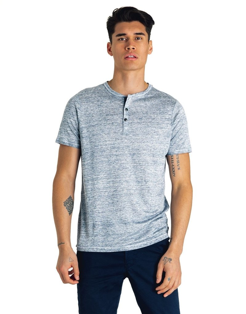 Good Man Brand Heather Linen Henley
