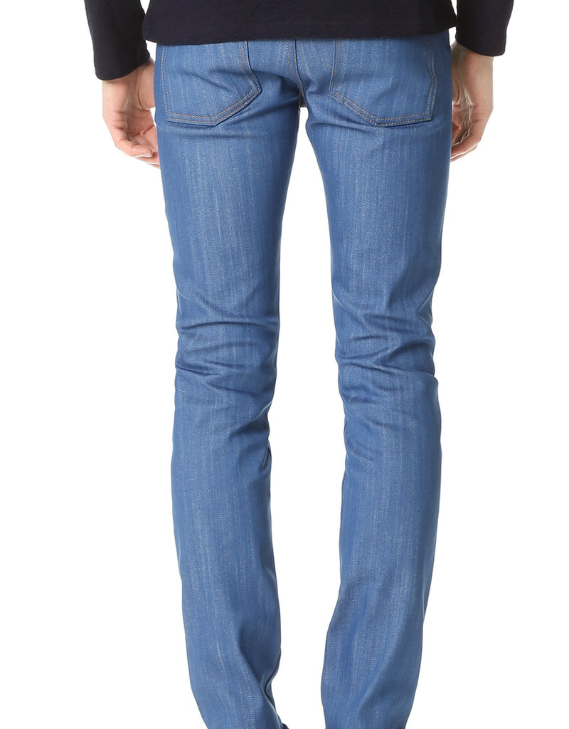 Naked & Famous Rich Blue Stretch Super Skinny Guy