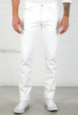 Naked & Famous Naked & Famous Weird Guy White Stretch Selvedge Jean