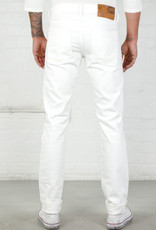 Naked & Famous Weird Guy White Stretch Selvedge