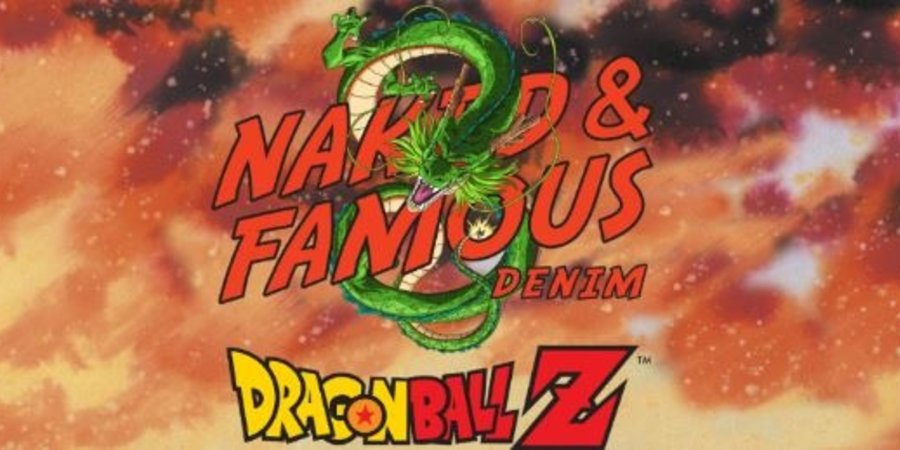 Naked & Famous Dragon Ball Z Capsule