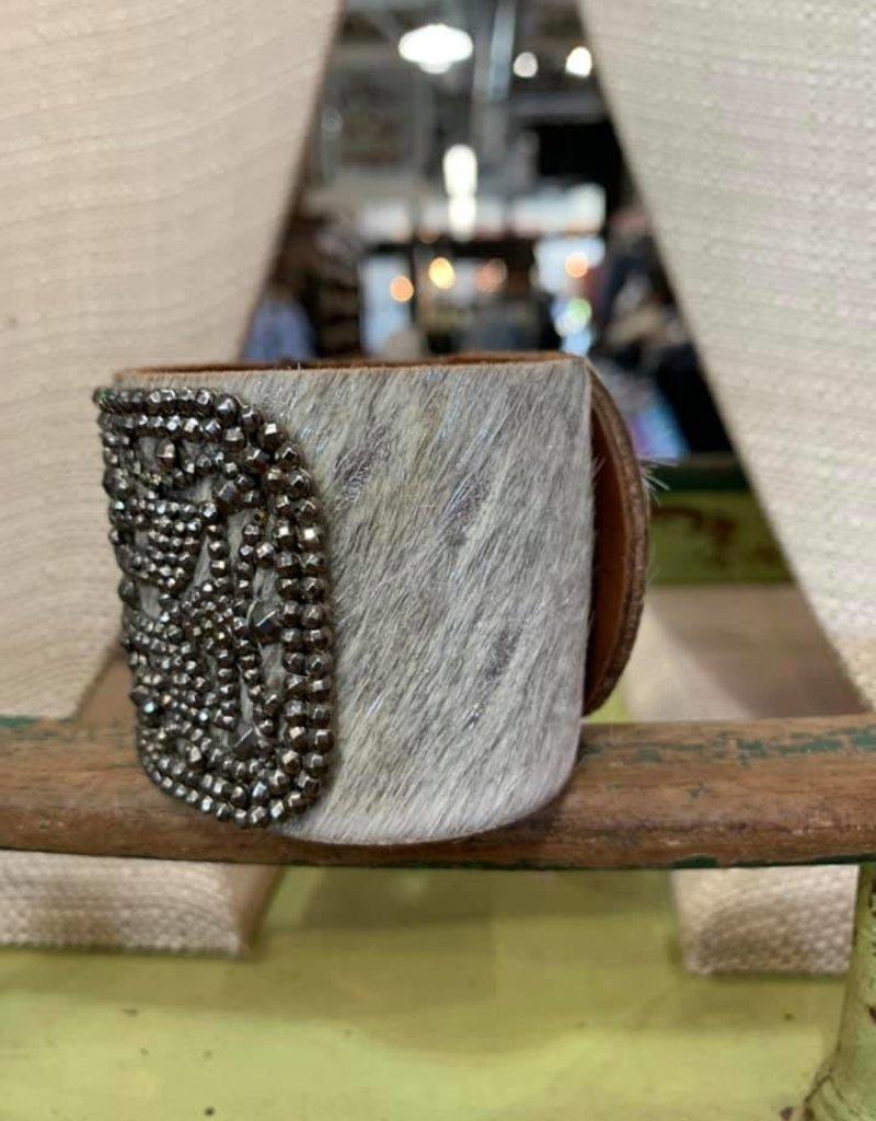 Deep South Metallic Hair Cuff AD445