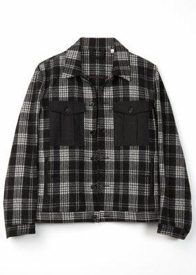 Billy Reid Billy Reid Combo Shirt Jacket