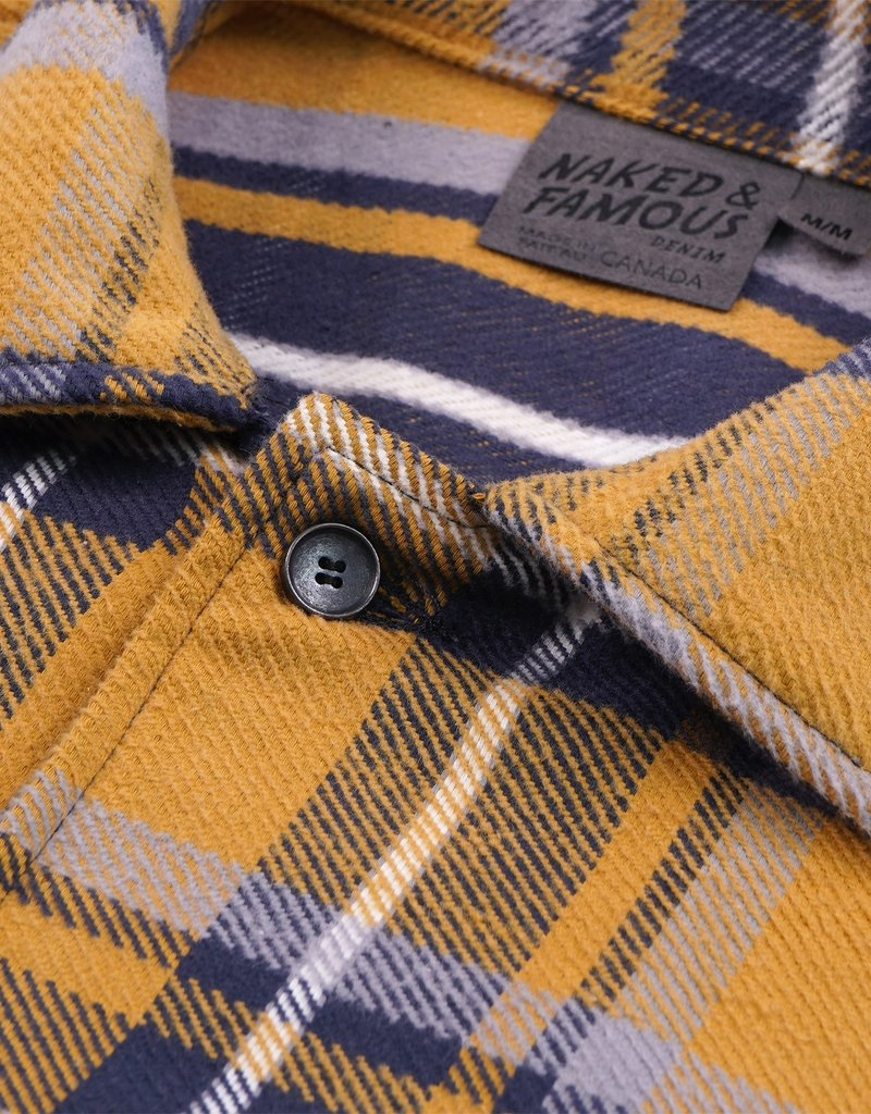 Naked & Famous Heavy Vintage Flannel