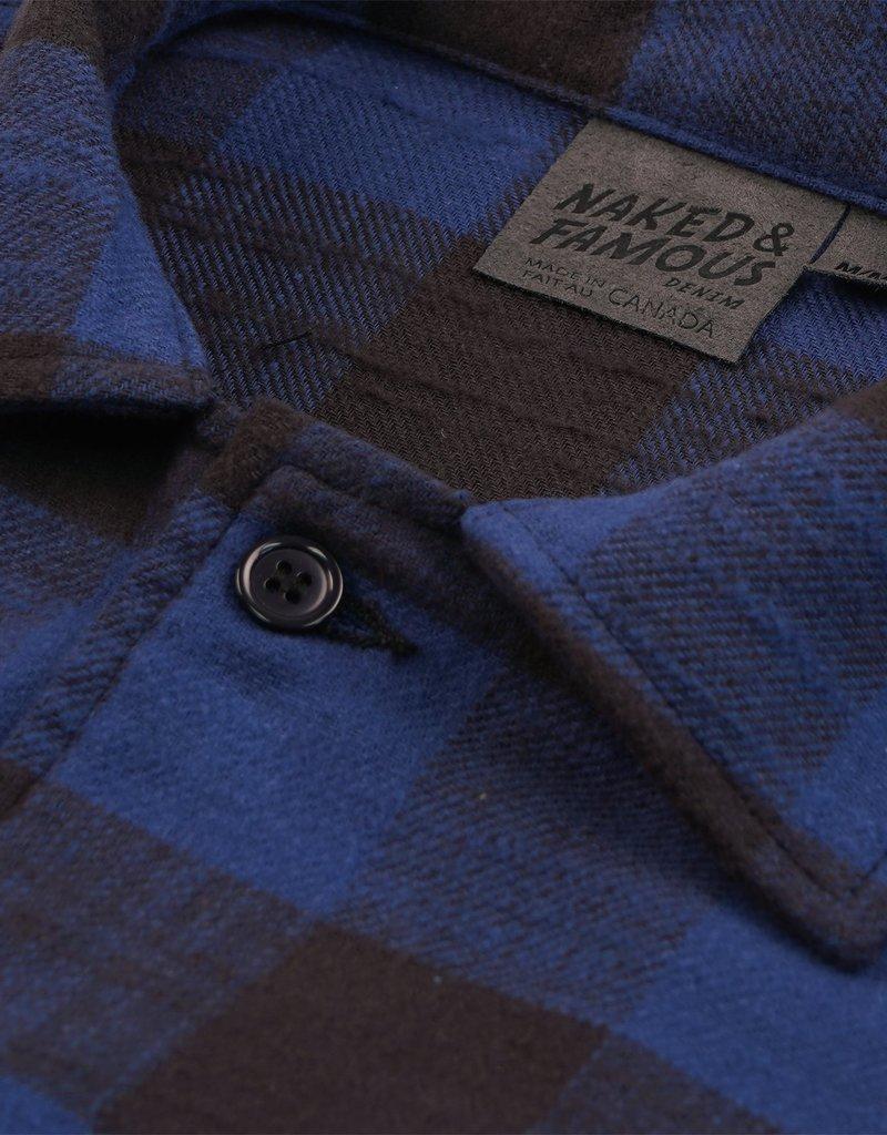Naked & Famous Work Shirt Slubby Buffalo Check