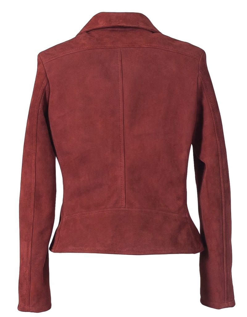 Suede Perfecto Jacket