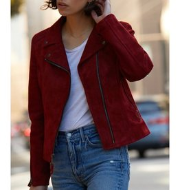Suede Perfecto Jacket