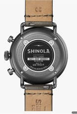Shinola Canfield Chrono 43mm Stone/Gunmetal