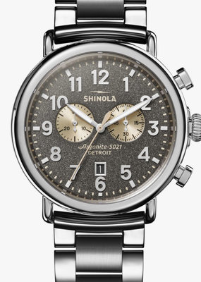 Shinola Runwell Chrono 47mm Cool Gray