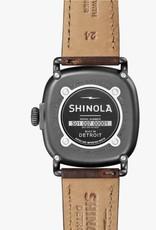 Shinola Shinola Guardian 43mm Brown/Gunmetal
