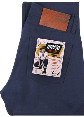 Naked & Famous Naked & Famous Weird Guy Indigo Duck Canvas Selvedge