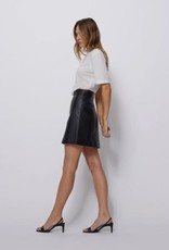 Bldwn Jensen Leather Skirt