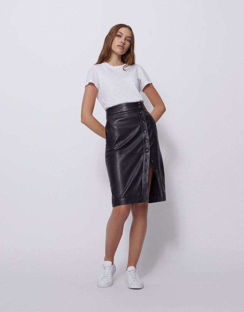 Bldwn Wednesday Leather Skirt