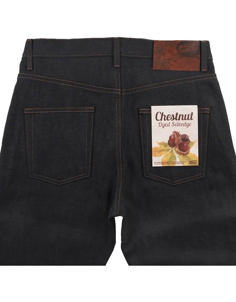 Naked & Famous Naked & Famous Chestnut Dyed Selvedge