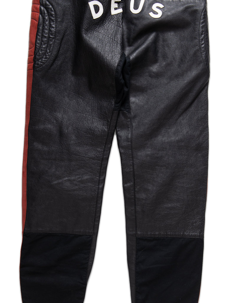 Deus Ex Machina Deus Fleet Leather Pant