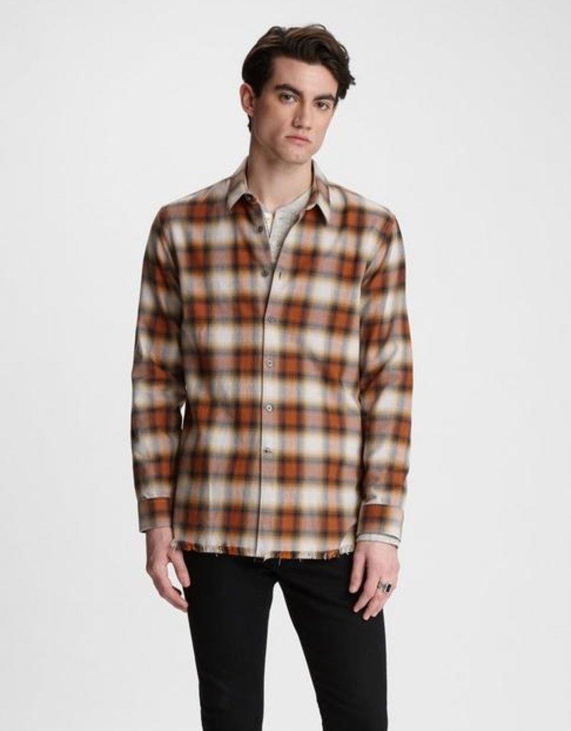 John Varvatos John Varvatos  Randy Long Body Shirt