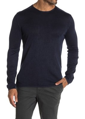 John Varvatos Walter Acid Wash Crew