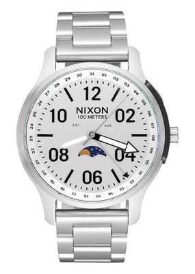 Nixon Ascender Silver Watch