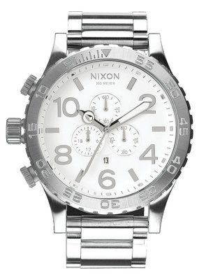 Nixon 51-30 Chrono High Polish White Watch