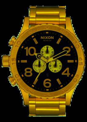 Nixon 51-30 Chrono Gold Watch