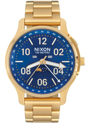 Nixon Ascender Gold/Blue Sunray Watch