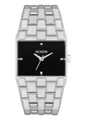 Nixon Nixon Ticket Silver/Black Watch