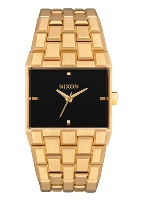 Nixon Nixon Ticket Gold Watch