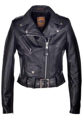 Schott Lambskin Moto Jacket