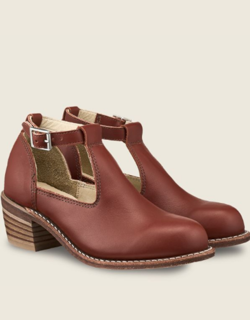 Red Wing Ida Ankle Strap Shoe