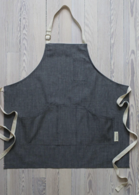 Raleigh Denim Workshop Raleigh OG Raw Selvage Tri-Pocket Apron