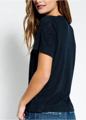 Sol Angeles Eco Slub Wide Hem Tee