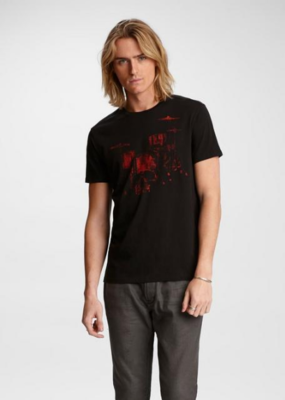 John Varvatos John Varvatos Graphic Short Sleeve Tee