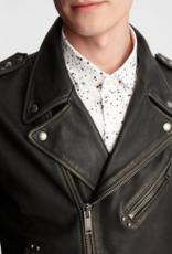 John Varvatos John Varvatos Misfits Leather Biker