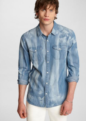 John Varvatos John Varvatos Marshall LS Western Shirt