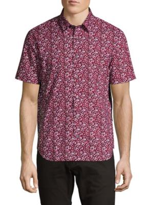 John Varvatos John Varvatos Doug Slim SS Sport Shirt