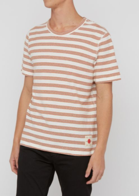 Billy Reid Billy Reid Slub Stripe Tee