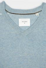 Billy Reid Billy Reid Contrast Stitch V-Neck