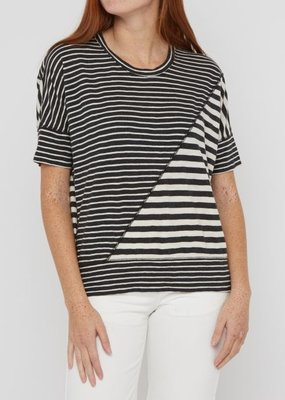 Ladies Billy Reid Asymetric Panel Top