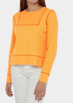 Ladies Billy Reid Contrast Long Sleeve Top