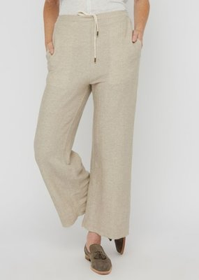 Ladies Billy Reid Terry Crop Pant