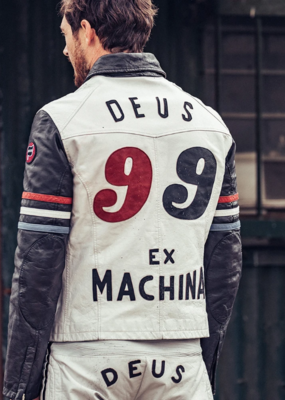 Deus Ex Machina Deus Ex Machina Racer Leather Jacket