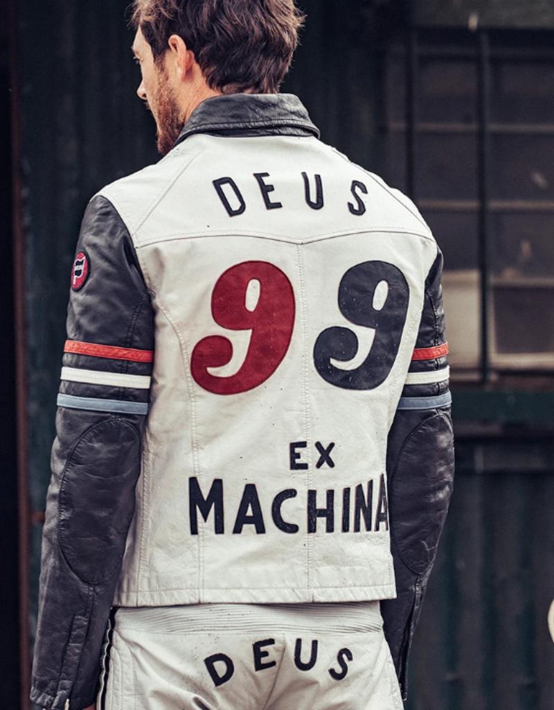 Deus Ex Machina Deus Ex Machina Racer Leather Jacket