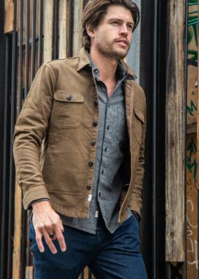 Kato KATO' The Anvil  Coating Double Weave Shirt Jacket