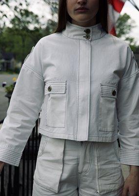 ELLOR ELLOR Quinn Military Jacket