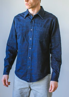 Raleigh Denim Workshop Raleigh Camo Patch Pocket Shirt