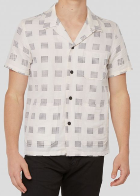 Billy Reid Billy Reid Short Sleeve Camp Shirt